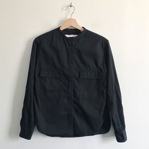 Uniqlo and Lemaire Utility Button Up Shirt Blouse